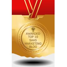 Top 10 SaaS Marketing Blog award