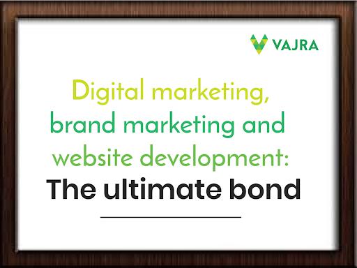 Digital marketing, brand marketing and website development: The ultimate bond